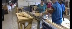 Афонтово: Акбулатов посетил завод лесоматериалов