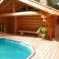 Современные бани. Популярные материалы для их строительства и печи для бань.