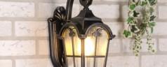 Дачные уличные светильники, как отличное решение для освещения и украшения территории