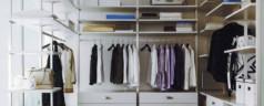 Удобство гардеробных комнат
