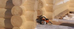 Преимущества строительства дома по технологии ручной рубки