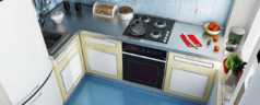Угловая кухня — решение для небольшой квартиры